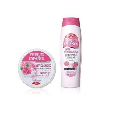 玫瑰果油水漾活肌修護套裝 (沐浴露+保濕霜)