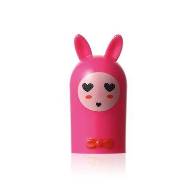 [2件优惠] 小兔造型润唇膏 (紫红色)