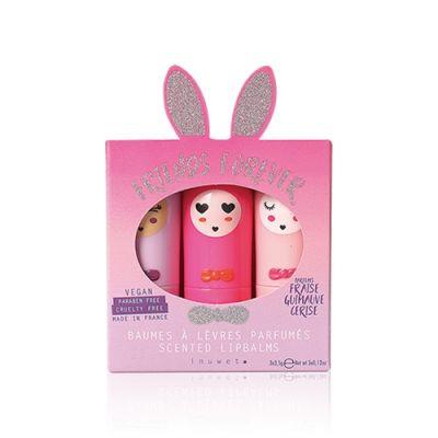 小兔造型润唇膏套装
