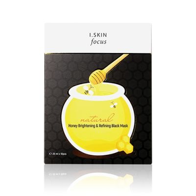 [3 boxes -  Special Offer] Honey Brightening & Refining Black Mask