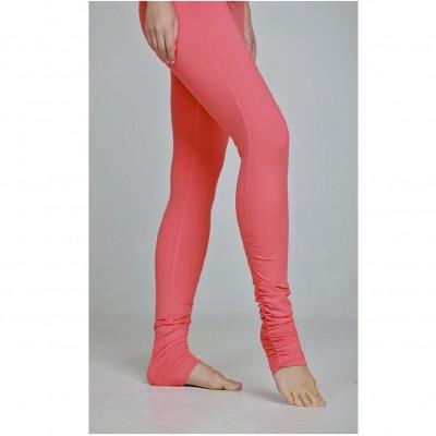 芭蕾風格緊身褲 - 桃粉色 XS碼