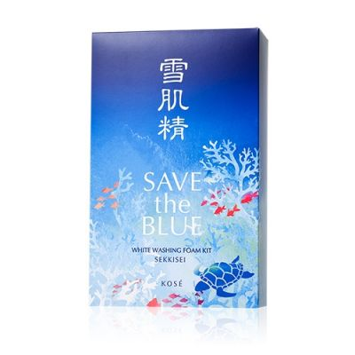 [Buy Any products over HK$99+HK$90]Save the Blue White Washing Foam Kit ( Washing Foam+Sekkisei)