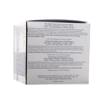 Renergie Multi-Lift Redefining Lifting Cream SPF15 (All Skin)