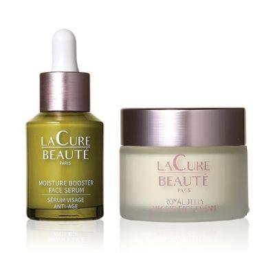 Moisture Booster Face Serum + Royal Jelly Nectar Face Cream