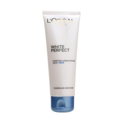White Perfect Whitening Facial Foam