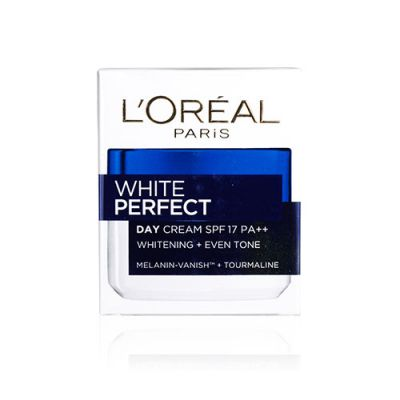 White Perfect Fairness Control Moisturizing Cream Day SPF17 PA++