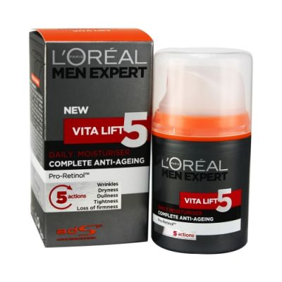Men Expert New Vita Lift 5 Complete Anti Aging Daily Moistuizer