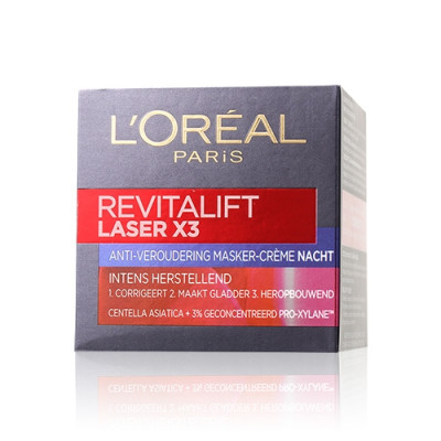 Revitalift Laser x3 New Skin Anti-Aging Night Cream Mask (Euro)