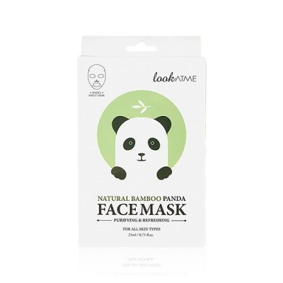 [Buy 2 get 1 free] Natural Bamboo Panda Face Mask