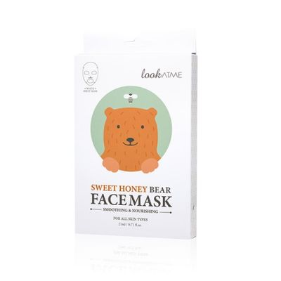 Sweet Honey Bear Face Mask