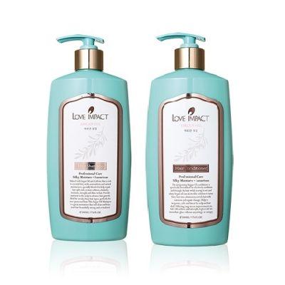 堅果油潤澤洗髮乳 + 堅果油潤澤修護素