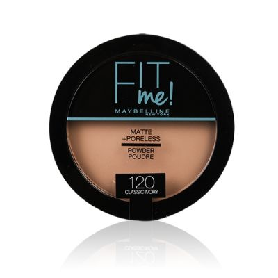 Fit Me Matte & Poreless Pressed Powder #120 Classic Ivory