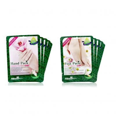 (Set Special Price) Hand Pack 5pcs + Foot Pack 5pcs