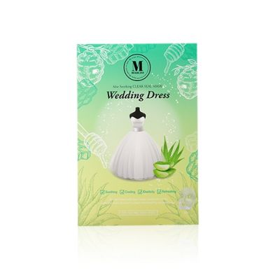 婚紗蘆薈蜜光面膜