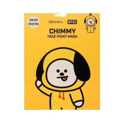 MEDIHEAL × BT21 CHIMMY FACE POINT MASK Ex.