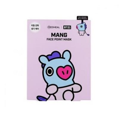 MEDIHEAL × BT21 MANG FACE POINT MASK