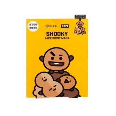MEDIHEAL × BT21 SHOOKY 重点保湿控油面膜