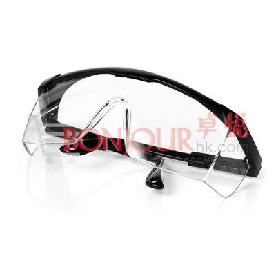 防飛沫-多功能防疫護目鏡 / 眼罩 (黑邊)