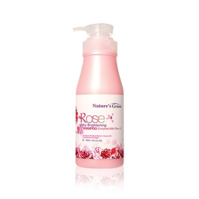 Rose Silky Brightening Shampoo