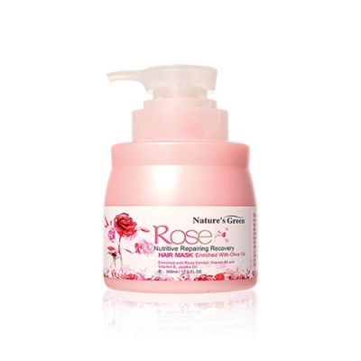 Rose Nutritive Repairing Recovery Hair Mask