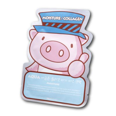 Collagen Piggy Mask Pack (AQUA)