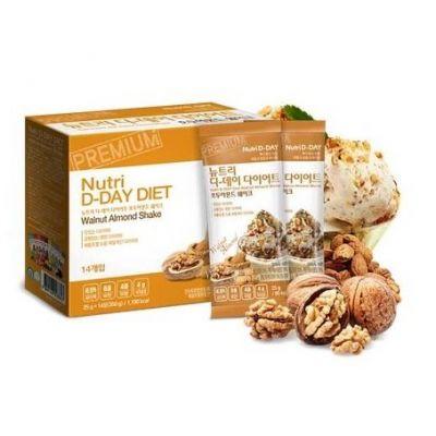 Nutri D-Day Diet - Walnut Almond Shake