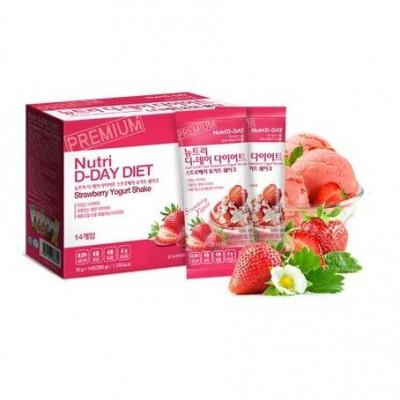 Nutri D-Day Diet - Strawberry Yogurt Shake