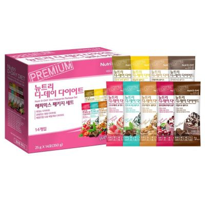 Nutri D-Day Diet - Happymix Package Set