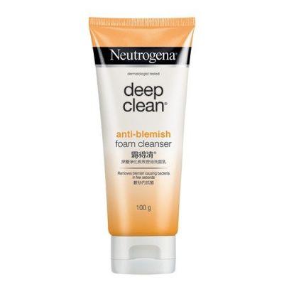 Deep Clean Acne Anti-blemish Foam Cleanser