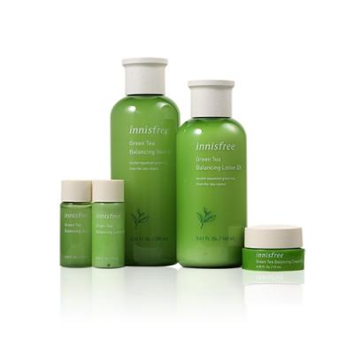 Green Tea Balancing Skin Care Set EX (5 Items)