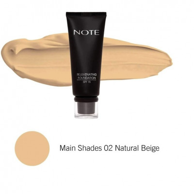 Rejuvenating Foundation SPF15 #02 Natural Beige