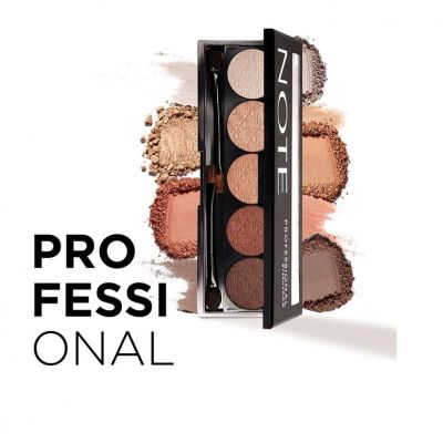 Professional Eyeshadow (5 Colors Palette) #104 Brown