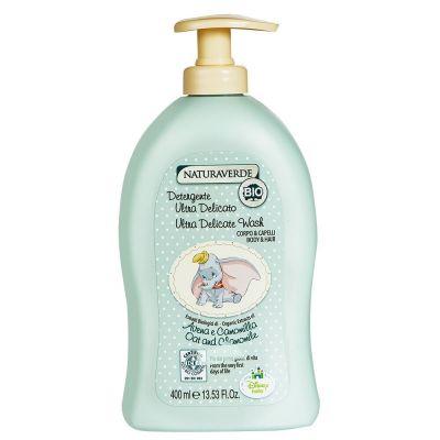 小飛象嬰兒二合一沐浴洗髮露