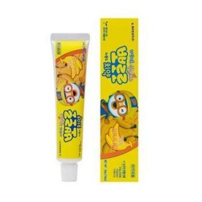 无添加剂 婴幼儿牙膏 (天然香蕉香味)