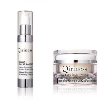[Special Offer] QIRINESS Global Brightening & Unifying Essence 30ml+Global Brightening & Unifying Cream 50ml