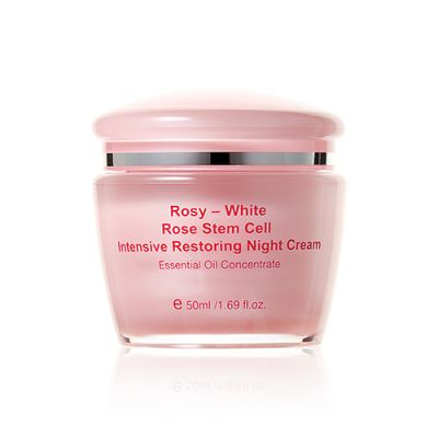 Rosy-White Rose Stem Cell Intensive Restoring Night Cream