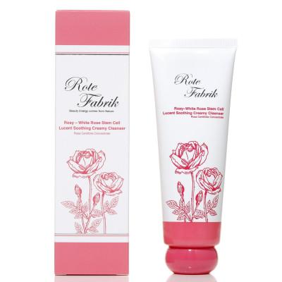 玫瑰干细胞亮白柔肤洁面泡
