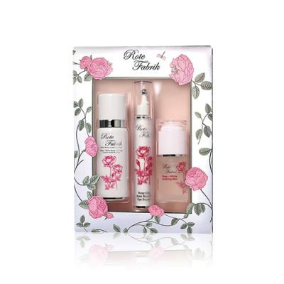 Rote Fabrik Rosy-White Special Christmas Set