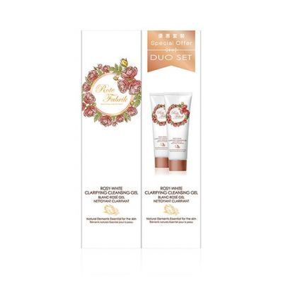 Rosy-White Clarifying Cleansing Gel Duo Set