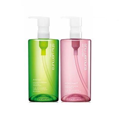 深層潔顏卸妝油  (綠茶潔顏油450ml+櫻花潔顏油450ml )