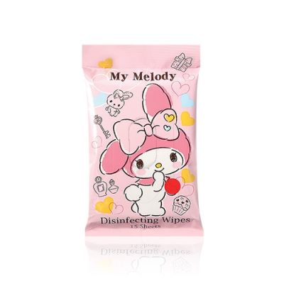 My Melody 除菌濕紙巾