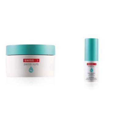 [特別優惠] Swiss3 Alps 抗污染舒緩保濕面霜(夢幻霜)+抗污染長效修復眼霜(親蜜眼霜)