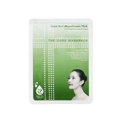 綠茶膠原精華面膜 (10片裝)