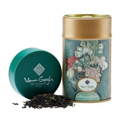 清涼巧克力罐裝茶葉