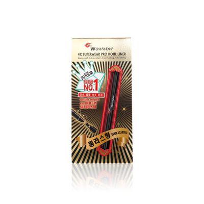 4X 電眼抗暈染眼線啫喱筆 #01 黑色 (升級版)