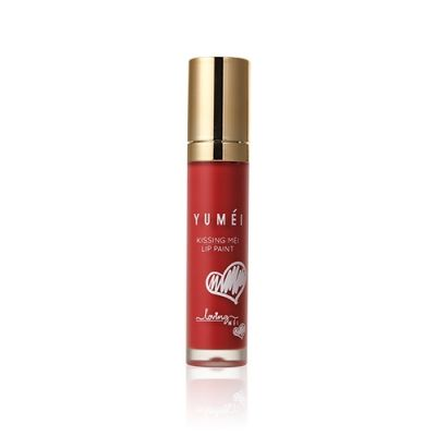 Kissing MÉI Lip Paint #03 Vivid Orange Red