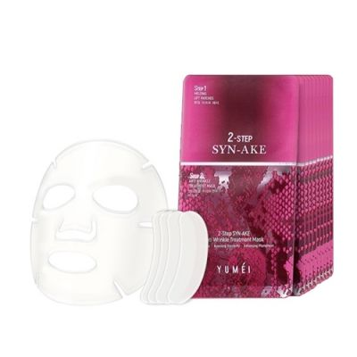 2-Step Syn-Ake Anti Wrinkle Treatment Mask 10pcs