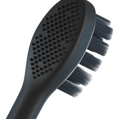 聲波震動牙刷頭  (黑) (3個裝)