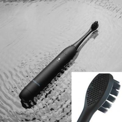 聲波震動牙刷 (黑) + 3個裝刷頭